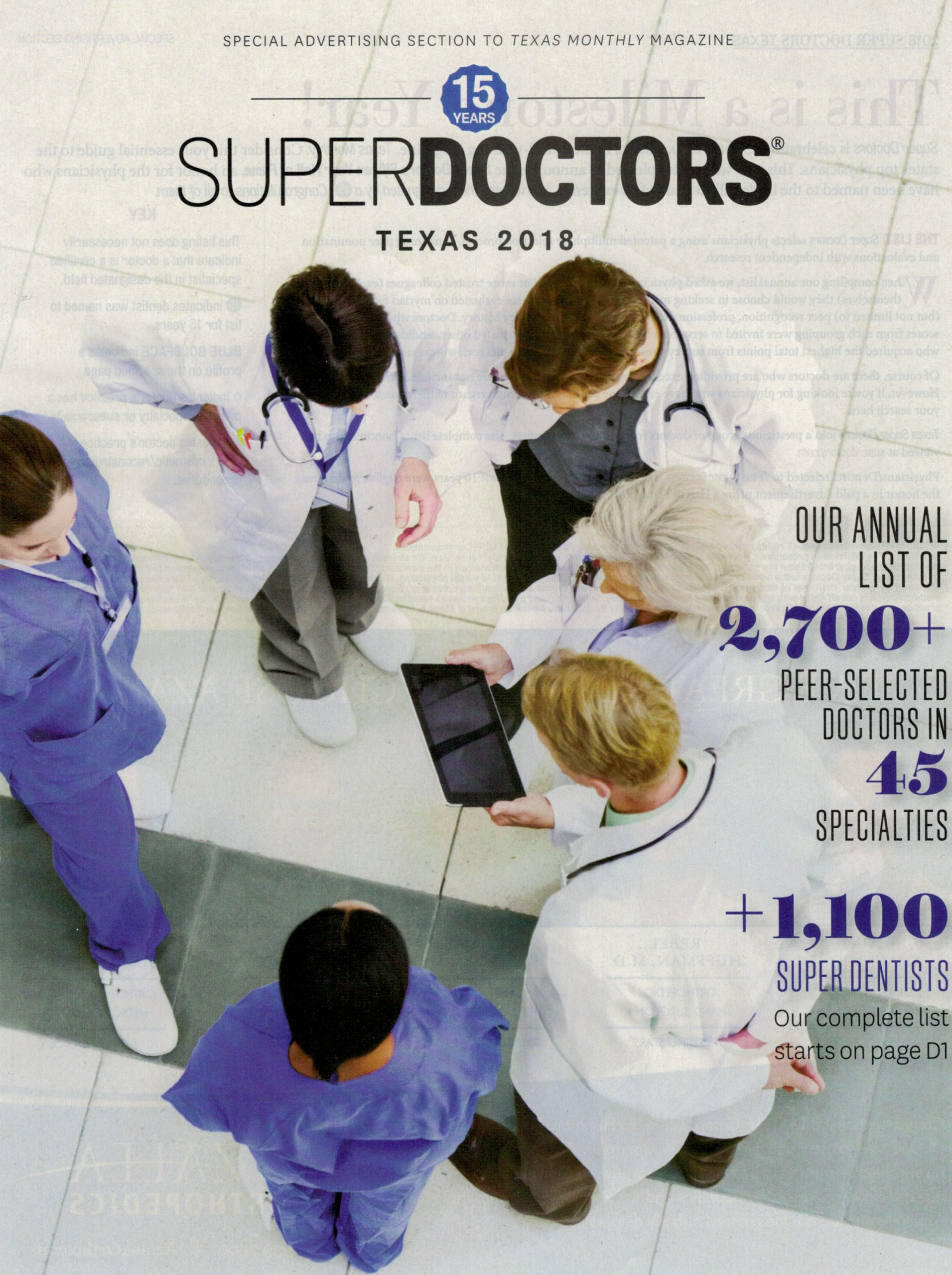 Super Doctor Award
