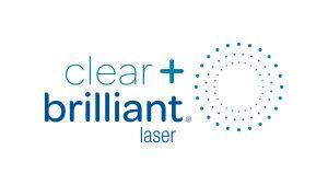 Clear+Brilliant laser logo.
