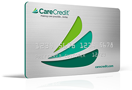 CareCredit card for healthcare financing.