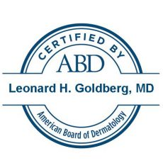 certified by ABD - Dr. Goldberg