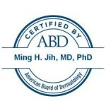Dr. Jih certified by ABD
