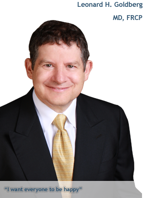 DermSurgery Associates' director and chief of surgery Dr. Leonard Goldberg.