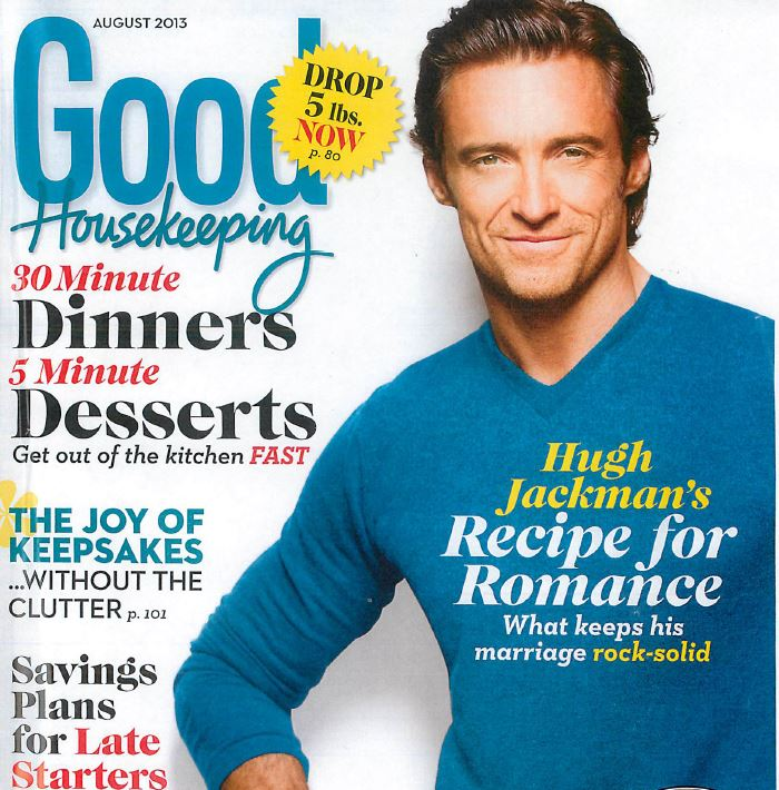 Lucille White in Good Housekeeping Magazine