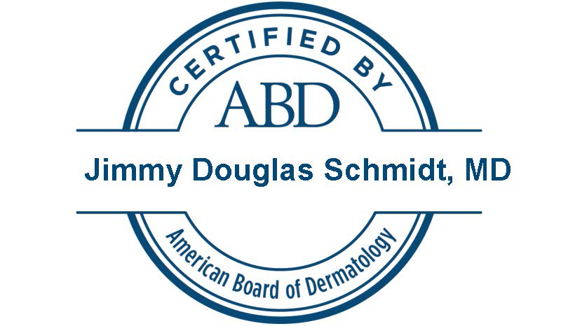 Certified by the American Board of Dermatology