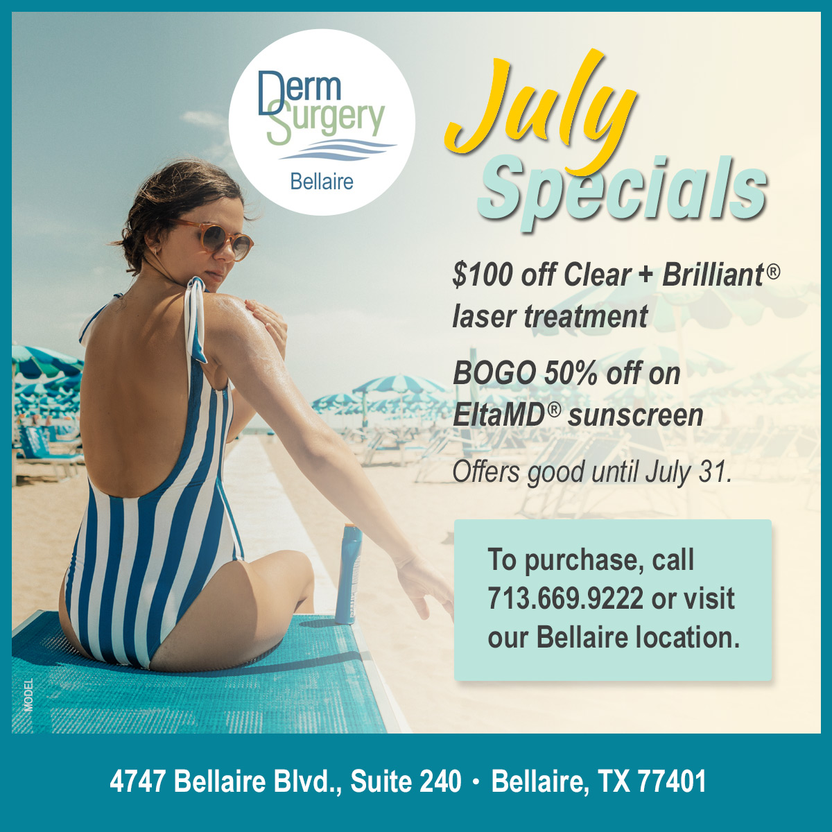 Bellaire July Specials