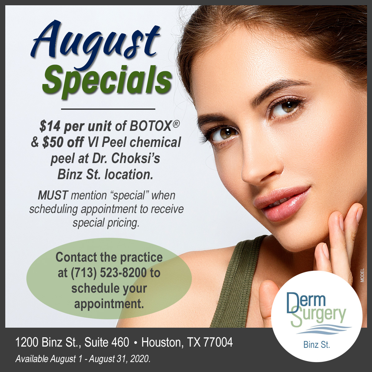 Dr. Choksi's August Special