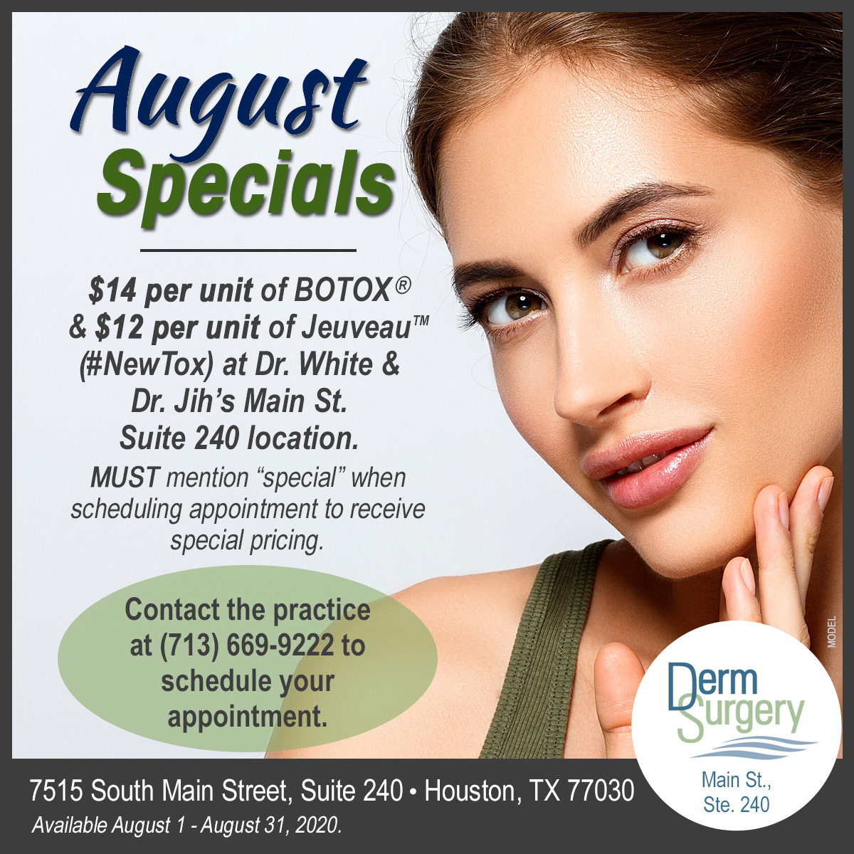 Dr. White & Dr. Jih's August Special
