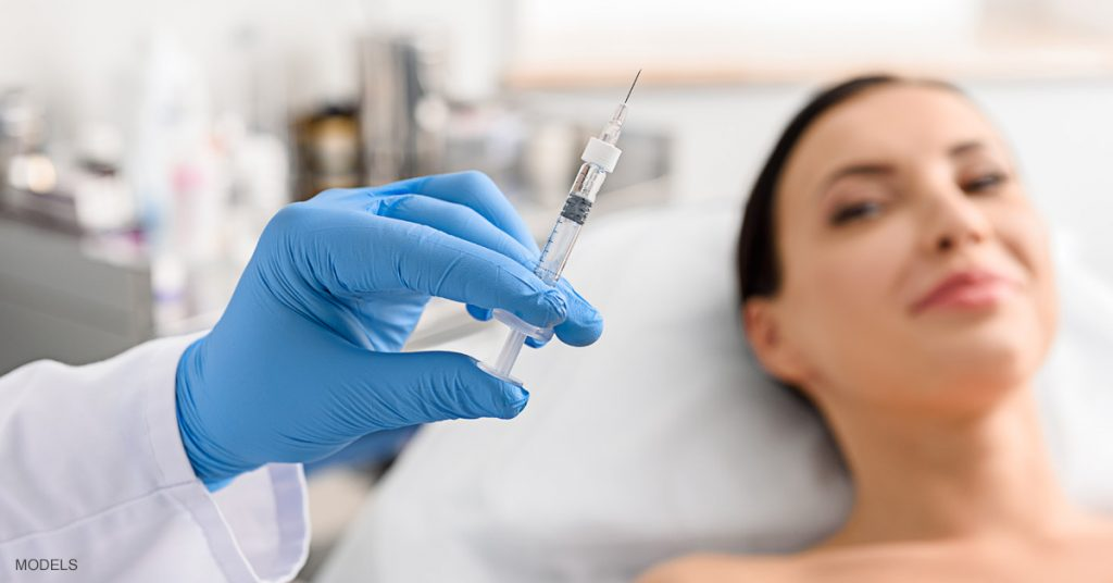 The difference between BOTOX® and dermal fillers in Houston, TX.