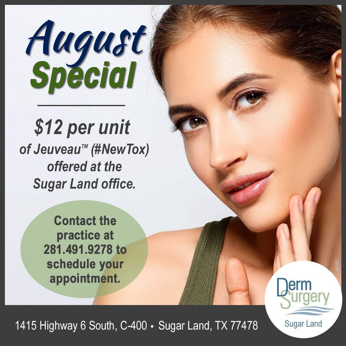 Dr. Riahi's August Special