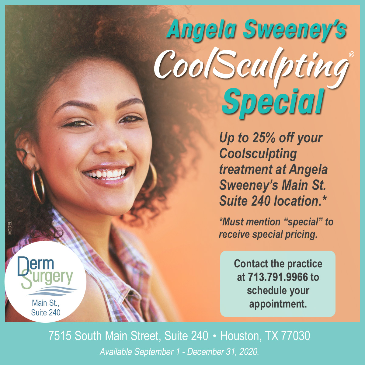 Angela Sweeney's CoolSculpting Special