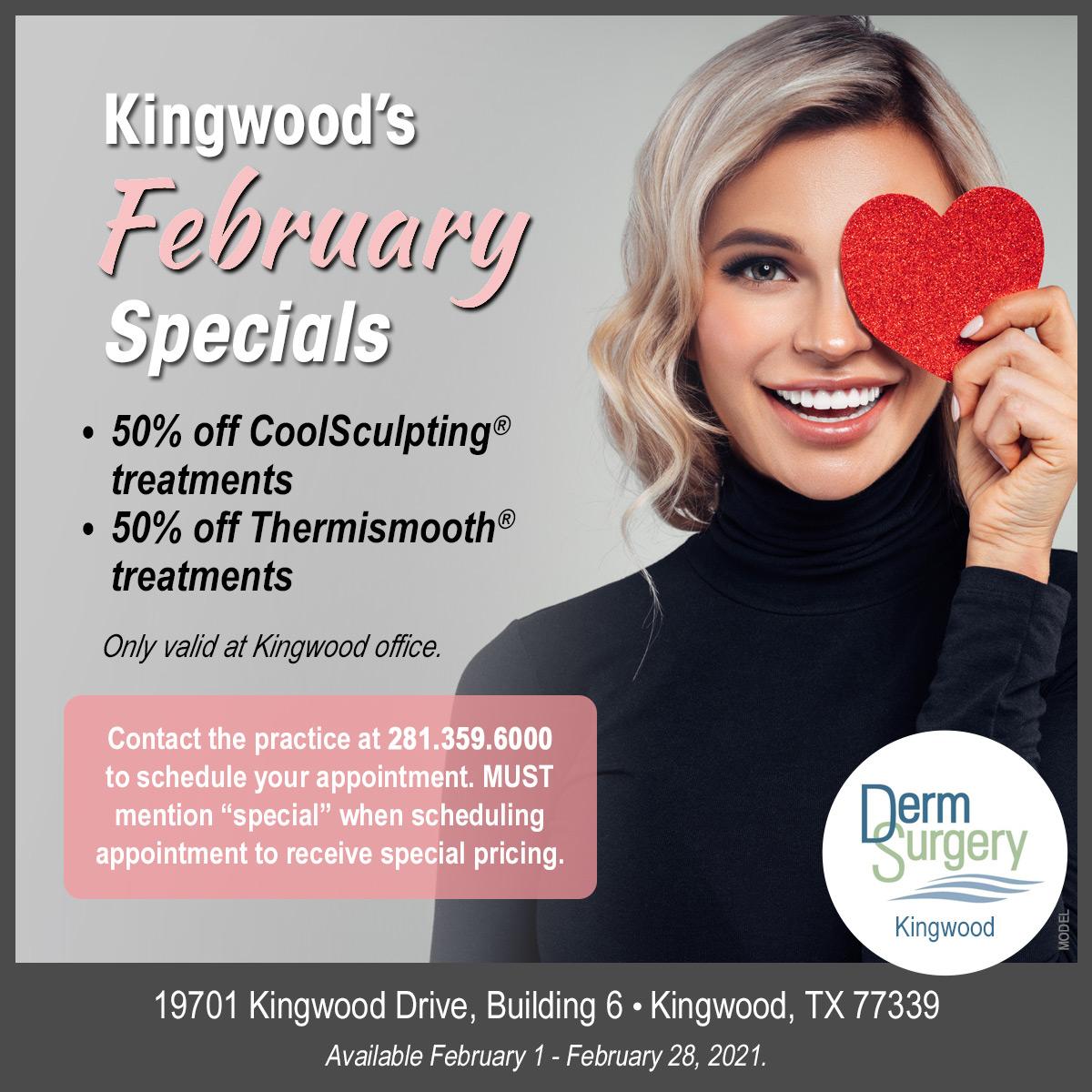 Kingwood Spa'sFebruary Special