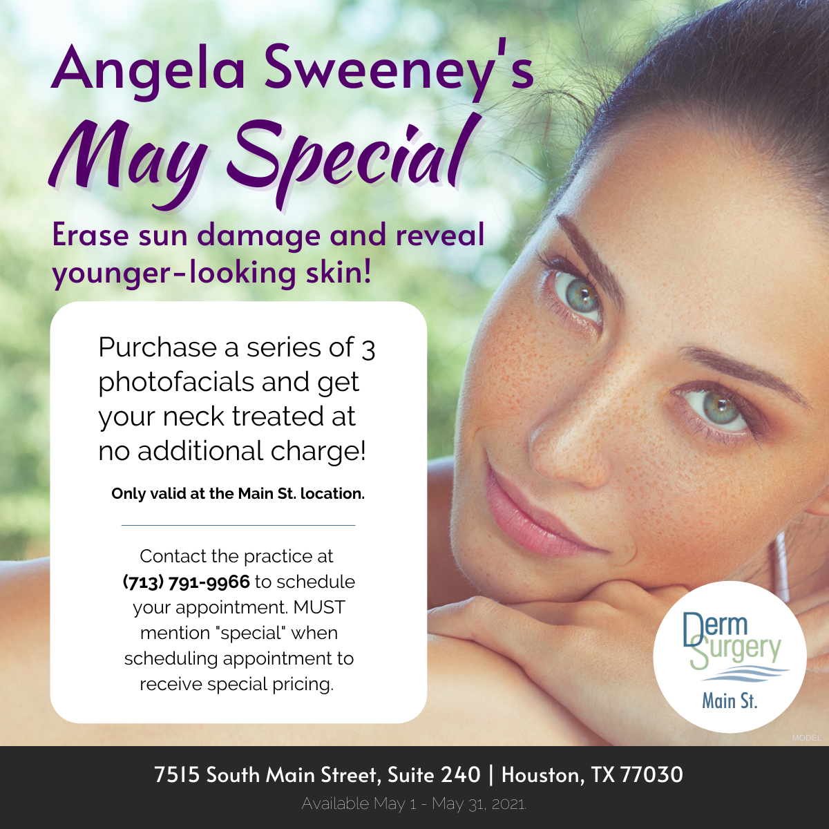 Angela Sweeney's May Special